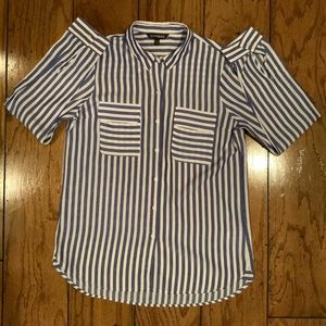 Like New Express Button Down Blouse